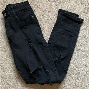 FN High waisted Black skinny Jeans